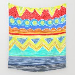 Sunrise Geometrics Wall Tapestry