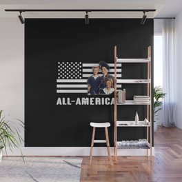 All-American Female Workers Wall Mural