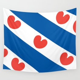 Flag of Friesland Wall Tapestry