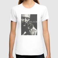 christopher walken T-shirts featuring Christopher Walken / Cat by Earl of Grey