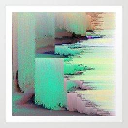 Selfie Drift Art Print