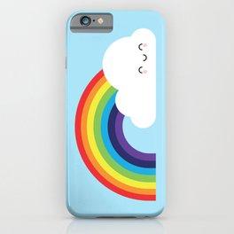 Kawaii Rainbow iPhone Case