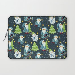 Christmas Winter Pattern Laptop Sleeve