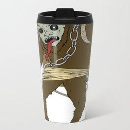 Krampus Metal Travel Mug