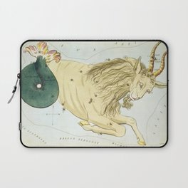 Vintage Capricorn Constellation Map (1825) Laptop Sleeve
