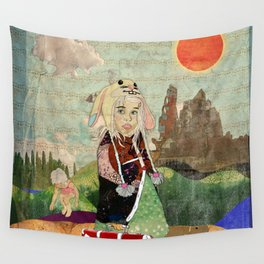 the peculiar adventures of alabee blonde Wall Tapestry