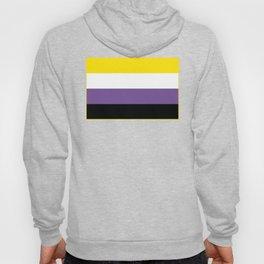 Gender Non-Binary Flag Hoody