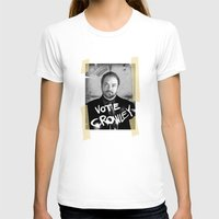 crowley T-shirts featuring Vote Crowley! by KanaHyde