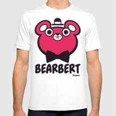 Bearbert Mens Fitted Tee White SMALL
