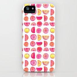 Fresh Citrus iPhone Case