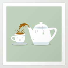 Tea Time! Art Print