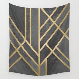 Art Deco Geometry 1 Wall Tapestry