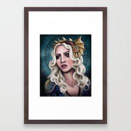 The Dragon Queen Framed Art Print