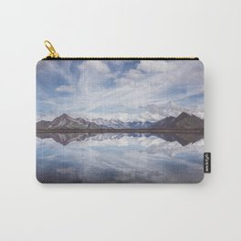 Mountain Lake Reflection Carry-All Pouch