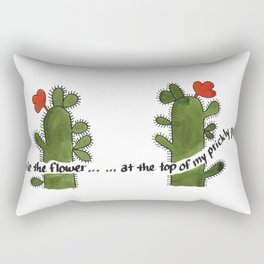 Prickly Pear Days Rectangular Pillow