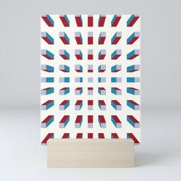 Depth perception - fall in Mini Art Print