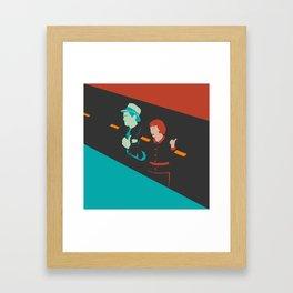 It happened one night Framed Art Print