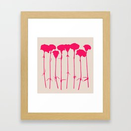 carnations 2 Framed Art Print