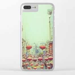 Down with Chinatown Clear iPhone Case