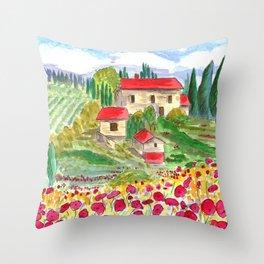 Tuscan Throw Pillow