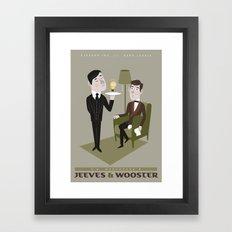 Jeeves & Wooster Framed Art Print