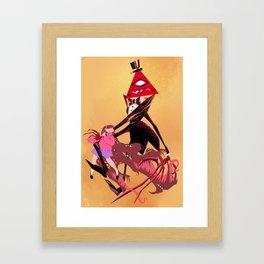 Eat him Framed Art Print