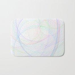 Zoomed Rings 3 Bath Mat