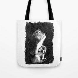 Macaque Tote Bag