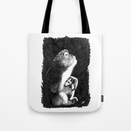 Macaque Tote Bag