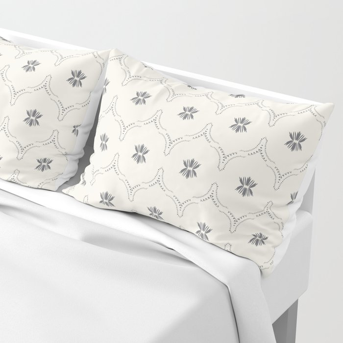 WILDFLOWER JASMIN GREY Pillow Sham