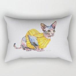 Sweater Sphynx Rectangular Pillow