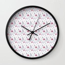 Flower p Wall Clock