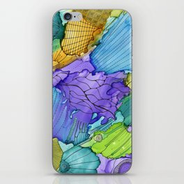 Washy doodle iPhone Skin