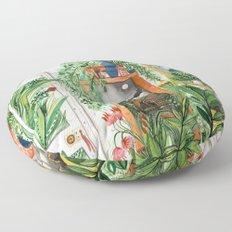 The Jungle Room Floor Pillow