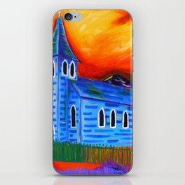 Churchly Blues iPhone Skin