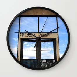Gate Wall Clock