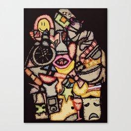 Pack Rat Canvas Print