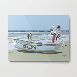 Avalon, Cooler by a Mile Metal Print