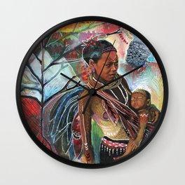 Sacred Wisdom Wall Clock