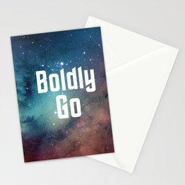 Boldly Go Stationery Cards