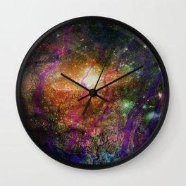 Inner Space 1 Wall Clock