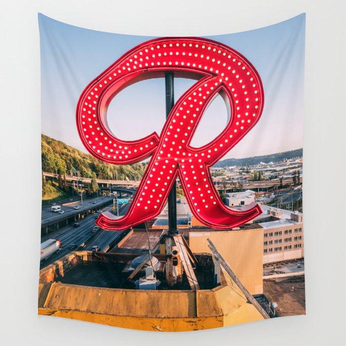 "Rainier ""R"" Wall Tapestry"