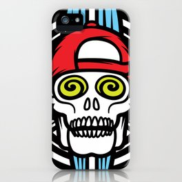 SurfSkull iPhone Case