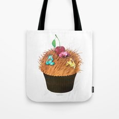 Hairy Cupcake Tote Bag