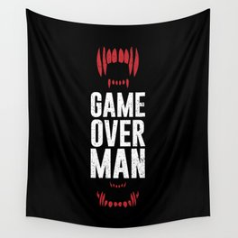 Game Over Man Wall Tapestry