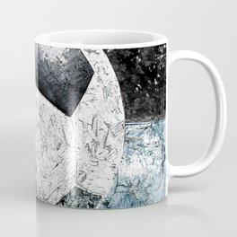 Modern soccer version 1 Coffee Mug