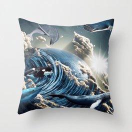 Wild and Free Throw Pillow