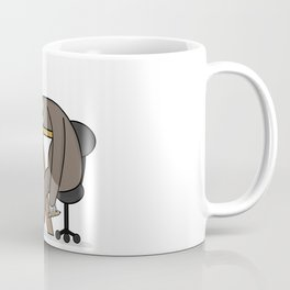 Office sloth Coffee Mug