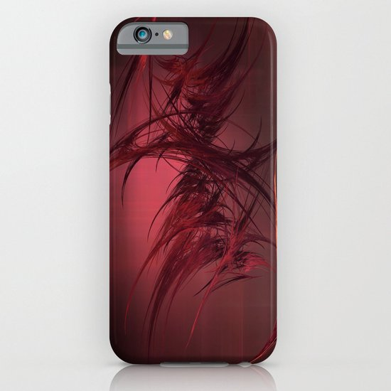 Red abstract iPhone & iPod Case