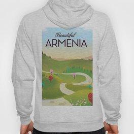Armenia Travel poster. Hoody